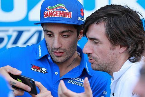 """Iannone: """"C'è la fiducia nell'anteriore Suzuki, ma non riesco a superare"""""""