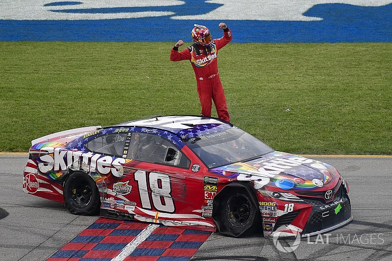 "Kyle Busch to fans: ""I don't know what you all are whining about"""