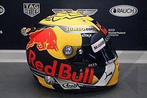 Ферстаппен привез на домашний этап Red Bull новый шлем