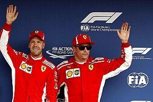 Ferrari: Vettel jubelt über Heimspiel-Pole - Räikkönen hadert