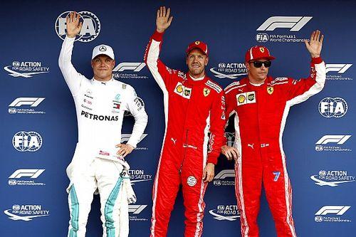 Феттель выиграл квалификацию в Германии, машина Хэмилтона сломалась в конце Q1