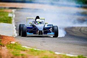 Coimbatore JK Tyre: Perera wins Race 2 from pole