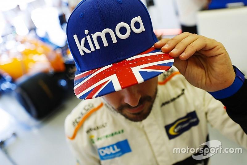 Alonso élvezte, hogy a Ferrari és Leclerc is őt kereste a pályán