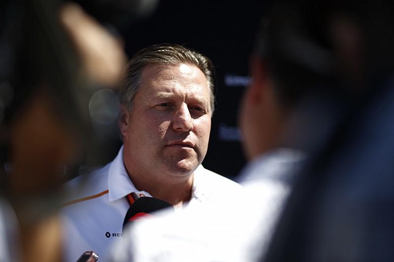 «Все только началось». Зак Браун о том, как долго McLaren будет выходить из кризиса