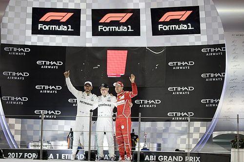 F1新ロゴ、ドライバーにも不評!? ハミルトン「あまり象徴的では……」