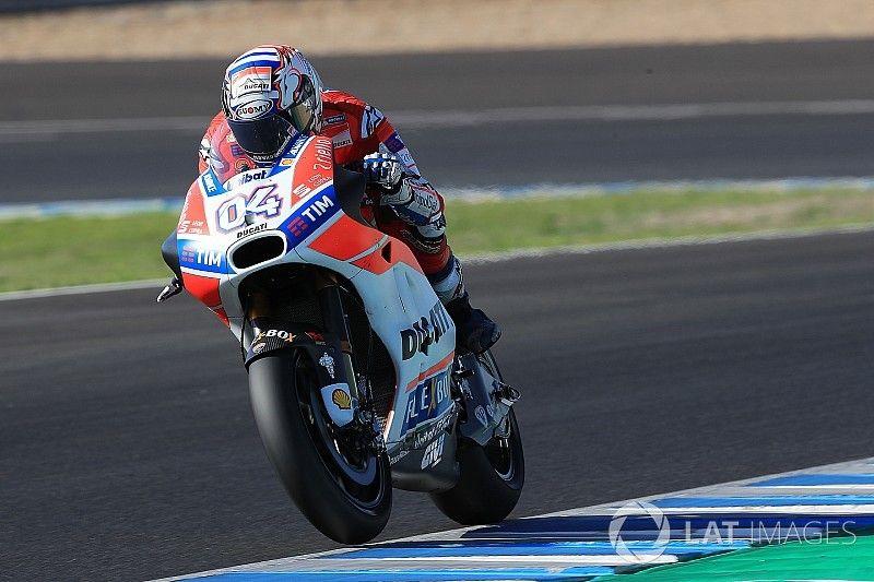 Tes Jerez: Dovizioso pecahkan rekor pole