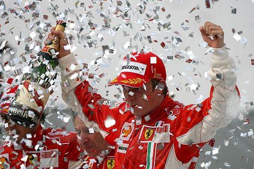 Ma 12 éve, hogy Räikkönen megnyerte a világbajnokságot a Ferrarinak