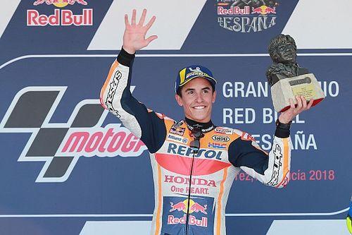 Marquez heerst in Jerez, bizarre clash Ducati-rijders en Pedrosa