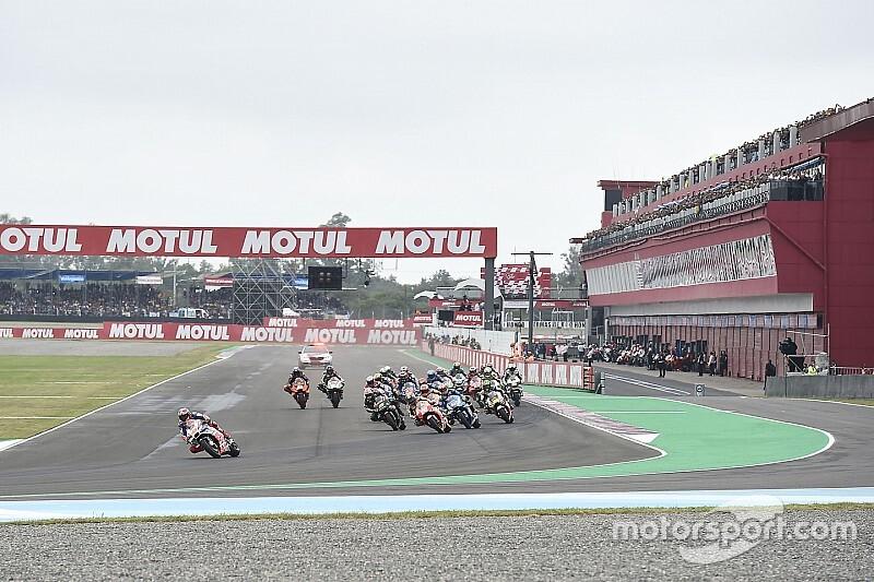 Confira os horários da MotoGP na Argentina