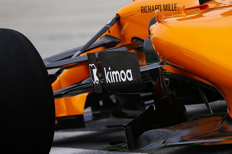 McLaren: nuovo deviatore di flusso solo per Alonso
