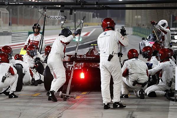 Fotogallery: l'Alfa Romeo Sauber nel Gran Premio del Bahrain