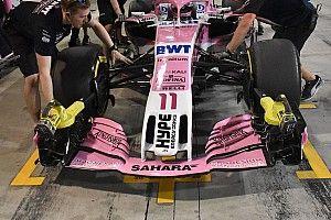 Новое переднее крыло не оправдало ожиданий Force India