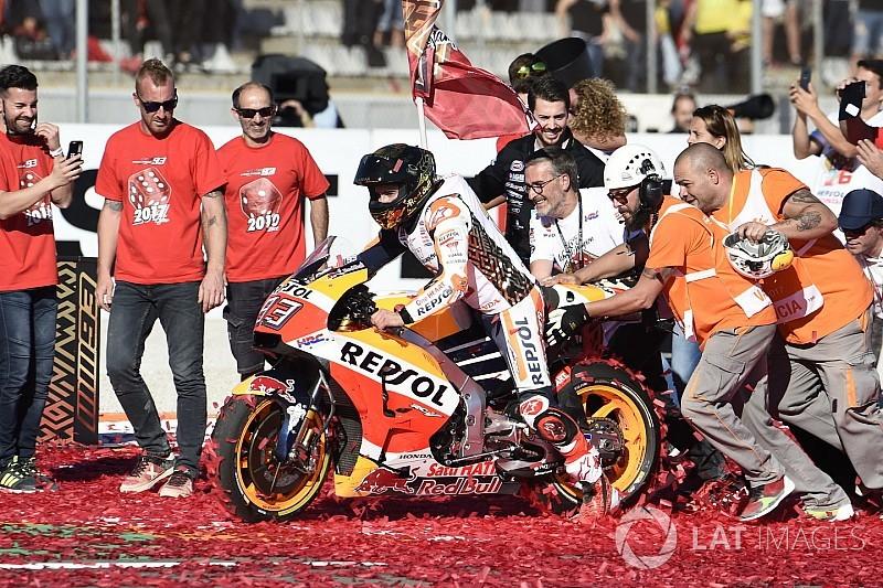 """MotoGP-Champion 2017 Marc Marquez: """"Kontrolle fiel mir schwer"""""""