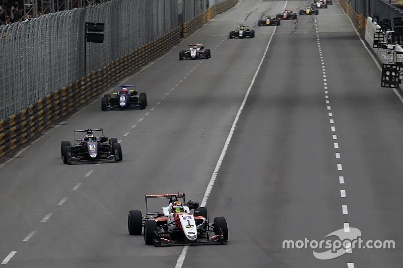 Ilott, Eriksson to return to Macau Grand Prix