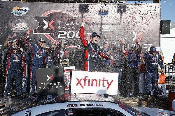 NASCAR XFINITY Revancha para William Byron y triunfa en  Phoenix