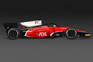 El nuevo equipo de la F2, con Fuoco, Deletraz y la Ferrari Driver Academy