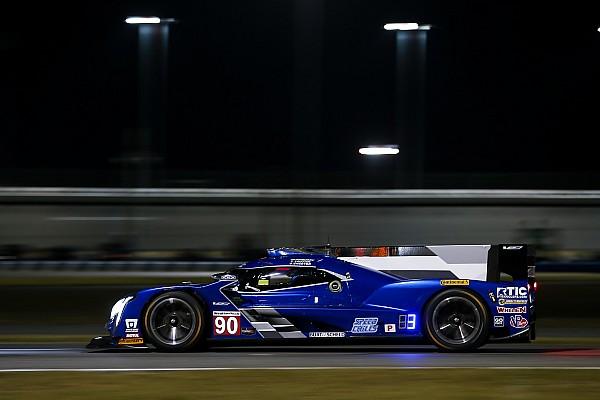 24h Daytona 2018: Spirit of Daytona im Nachttraining vorn