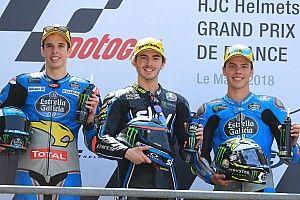 Bagnaia tient tête aux pilotes Marc VDS et signe un 3e succès
