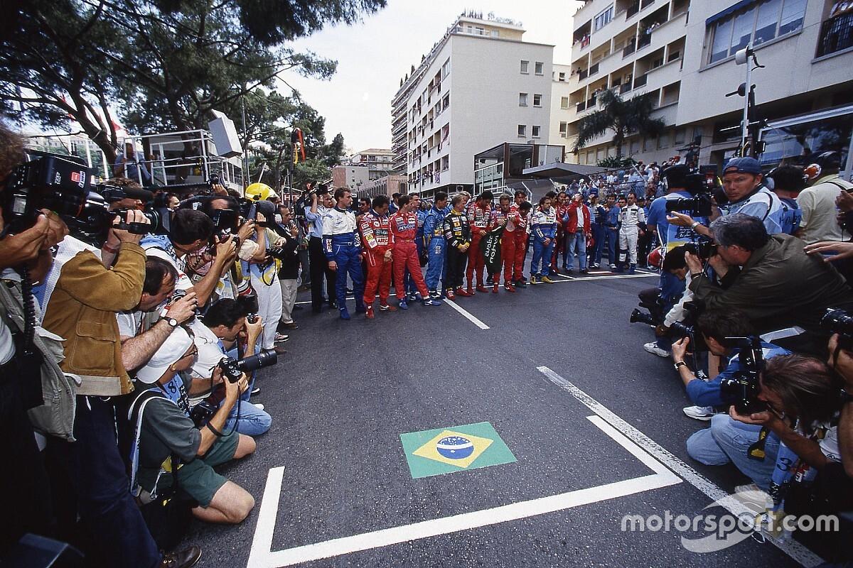 Uniek eerbetoon aan Senna en Ratzenberger in Barcelona