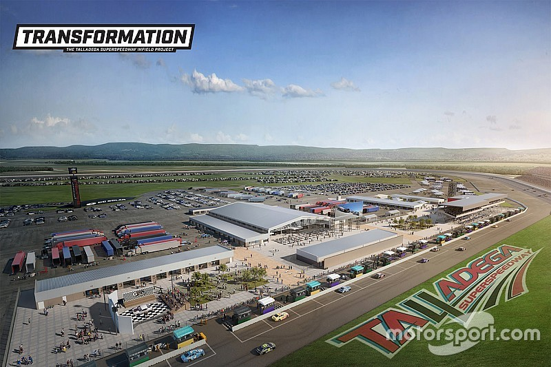Talladega Superspeedway to undertake $50 million infield renovation