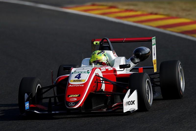 Mick Schumacher firma la sua prima pole position in F3 nella Q2 di Spa