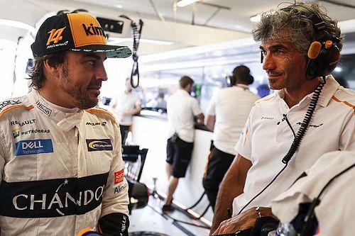 Alonso tevreden met P11, maar niet over gebruik boordradio