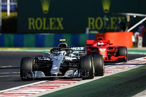 Vettel, Bottas'ı geçse bile Hamilton'u yenemeyeceğini söylüyor