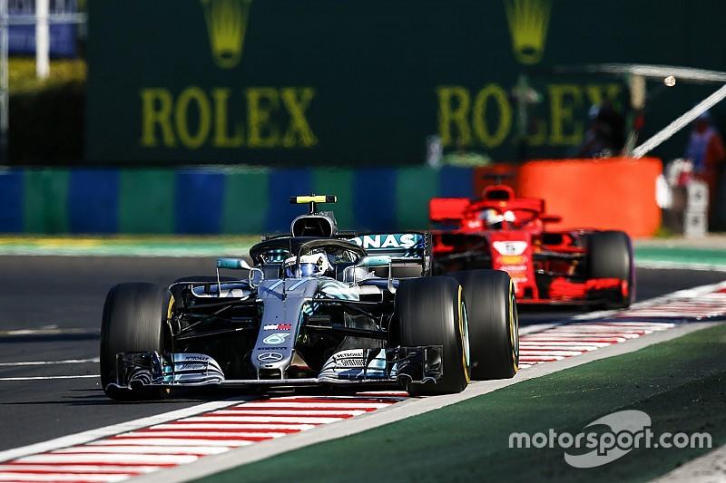 Vettel doesn't blame Bottas for hitting him