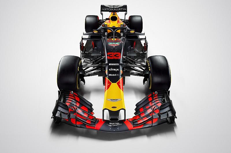 Red Bull enseña su decoración definitiva para la F1 2018