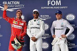 La parrilla de salida del GP de Estados Unidos tras 95 posiciones de penalización