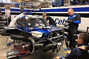 Команда Villorba смогла восстановить разбитое в квалификации шасси