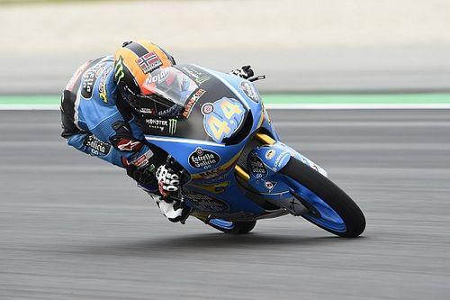 Moto3 Barcelona: Canet de snelste, Martin hard onderuit