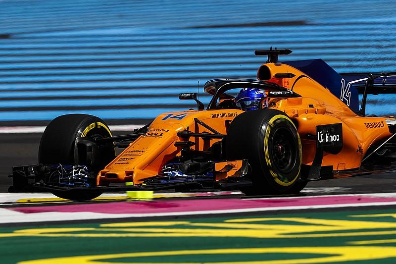 Alonso onverschillig door 'overenthousiaste' boordradio