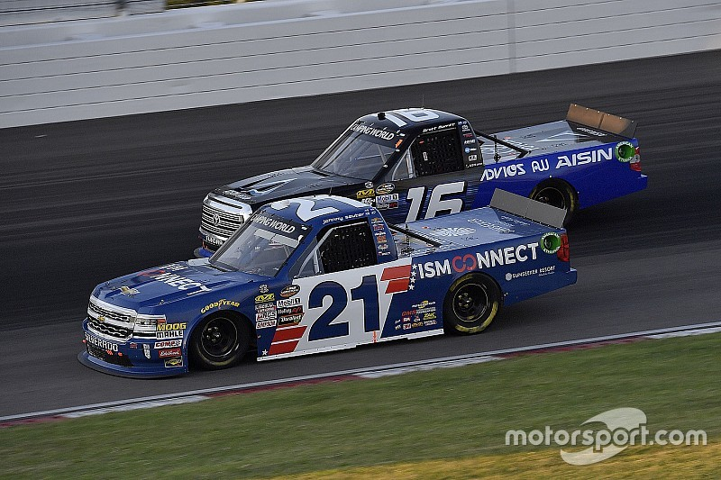 The four drivers who will battle for the Truck title at Homestead