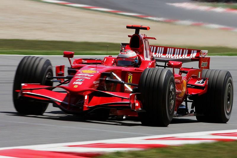 Amikor Räikkönen leszakadt kipufogóval lett második a Francia Nagydíjon