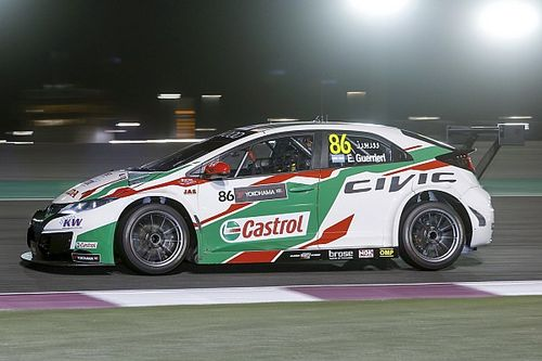 Spettacolare pole position di Guerrieri in Qatar, Michelisz solo 11°