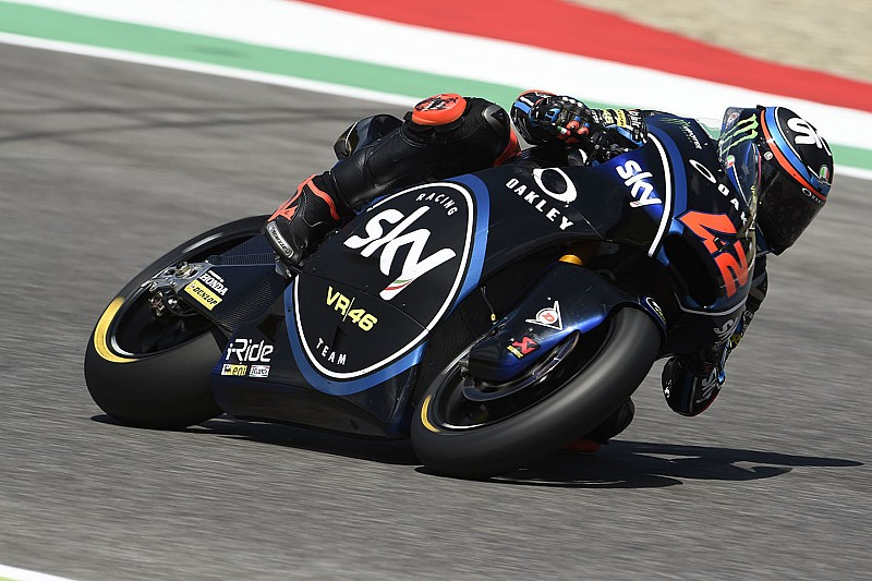 FP1 Moto2 Catalunya: Bagnaia memimpin, Dimas Ekky ke-33