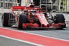 Vettel : Le travail mené à Barcelone