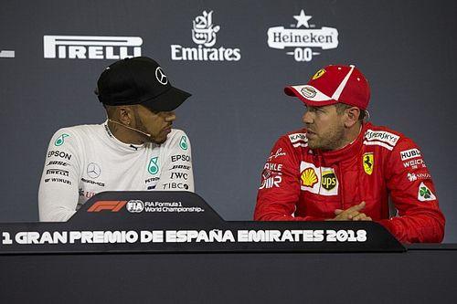 """Hamilton: """"Con Vettel, se non ci ammazziamo prima, potrei fare Le Mans!"""""""