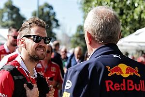 Helmut Marko recomienda a Sebastian Vettel cambiar de equipo