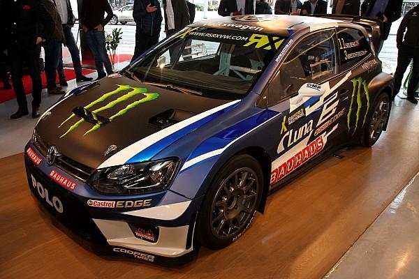 World Rallycross Son dakika Solberg'in Volkswagen takımı 2017 WRX aracını tanıttı