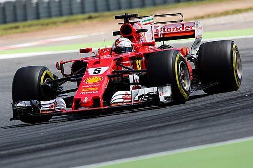 """Vettel na motorwissel: """"Een wonder dat ik nog naar buiten kon"""""""