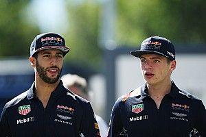 Ricciardo: Verstappen é colega de time mais duro que Vettel