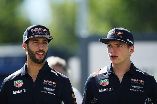"Ricciardo: ""Verstappen é o primeiro parceiro a me desafiar"""