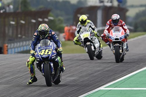 Rossi relieved to come fifth after tough Sachsenring weekend