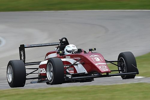 Mid-Ohio USF2000: Askew wins for seventh time in 2017