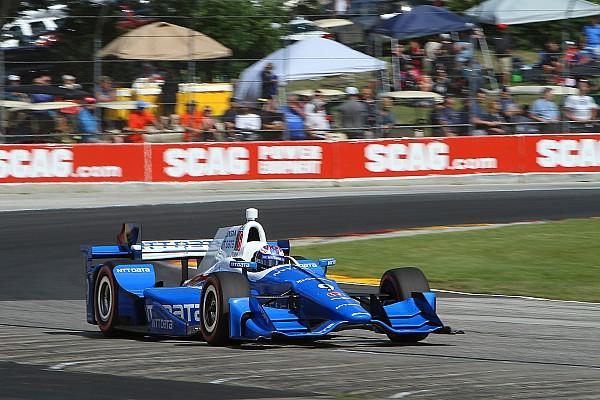 IndyCar Relato da corrida Dixon derrota Penskes em Road America; Castroneves é 3º