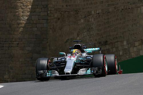 """Hamilton detona pneus em Baku: """"São muito duros"""""""