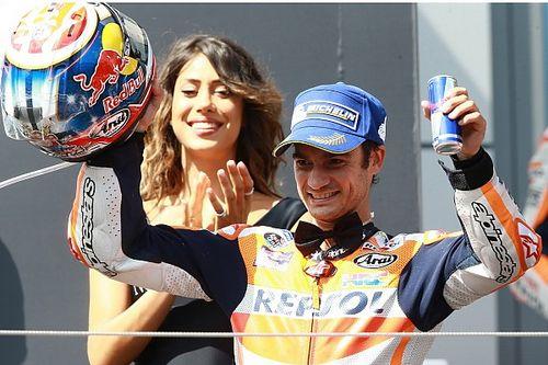 Pedrosa alcanza a Checa como el español con más carreras en MotoGP