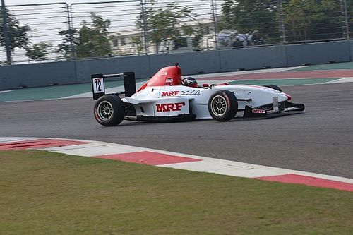 Buddh MRF F1600: Shanmugam recovers from slow start to win Race 1